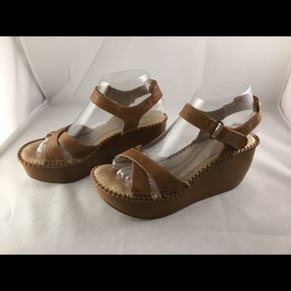 e88a4adb7bb Cathy Jean Shoes - Cathy Jean Super Comfort Leather Platform Sandal